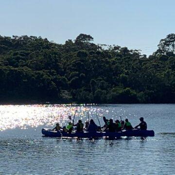 Kayaking with the Joeys