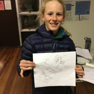 Designing aircraft in Scouts