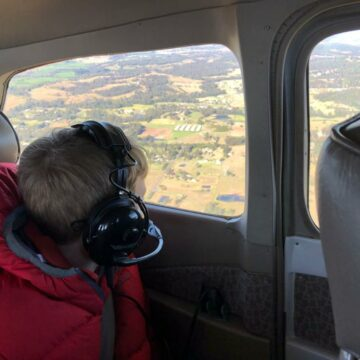 Family Air Activity Day with a flight over Warragamba Dam and surrounds
