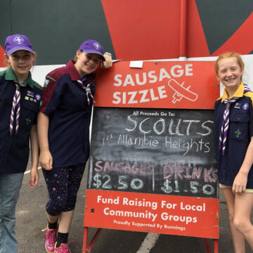 Bunnings Sausage Sizzle Fundraising